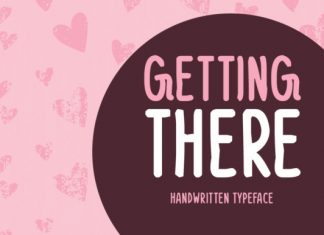 Getting There Font