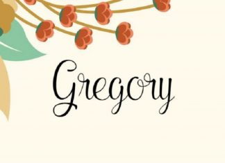 Gregory Font