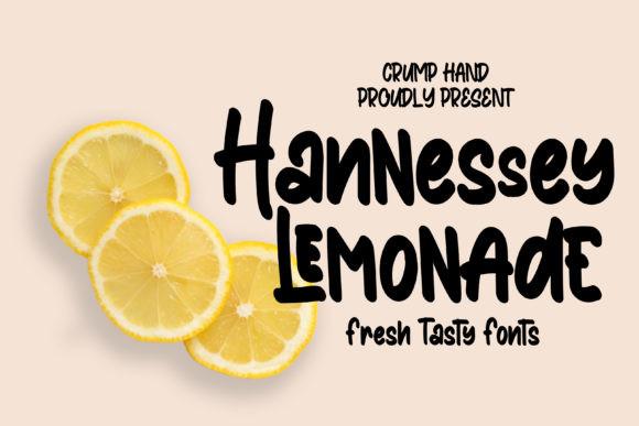 Hannessy Lemonade Font