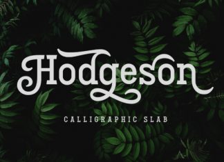 Hodgeson Font
