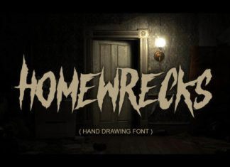 Homewrecks Font