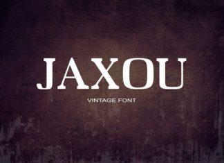 Jaxou Font
