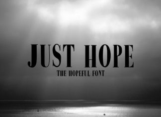 Just Hope Font