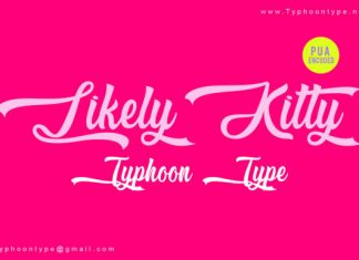 Likely Kitty Font