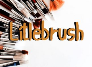 Litlebrush Font
