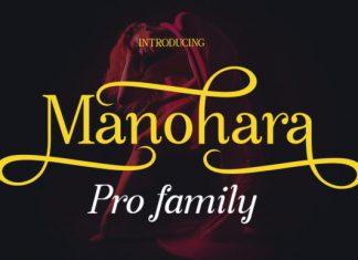 Manohara Pro Family Font