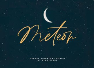 Meteor Font