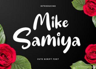 Mike Samiya Font