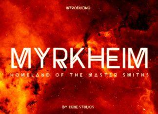 Myrkheim Font
