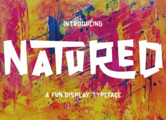Natured Font