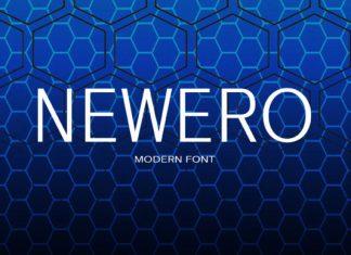 Newero Font