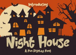 Night House Font