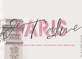 Paris Je T'aime Font
