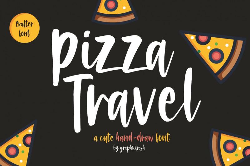 Pizza Travel Font