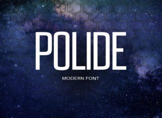 Polide Font