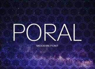 Poral Font