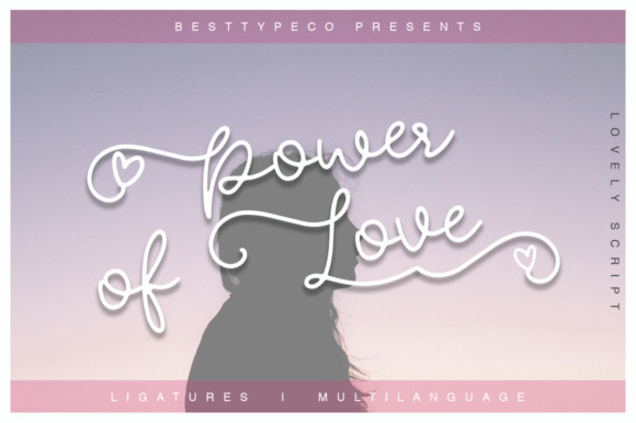 Power of Love Font