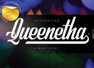 Queenetha Font