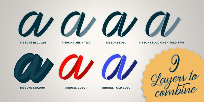 Ribbons Font