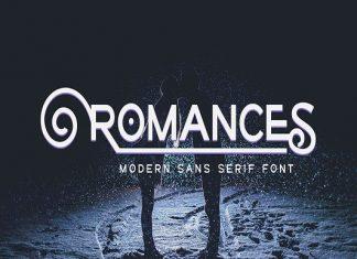 Romances Font