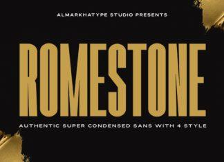 Romestone Font