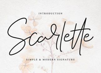 Scarlette Font