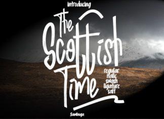 Scottish Time Font