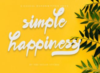 Simple Happiness Font