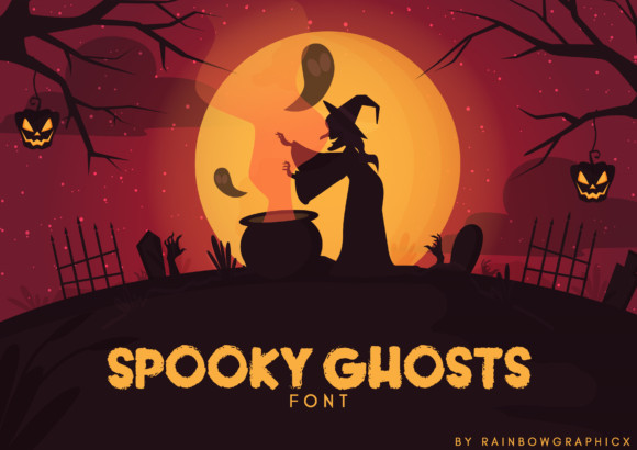Spooky Ghosts Font