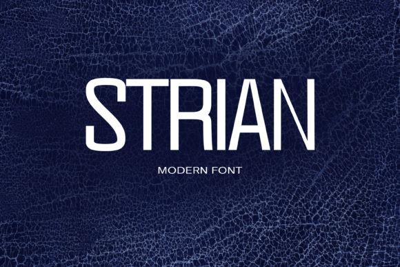 Strian Font