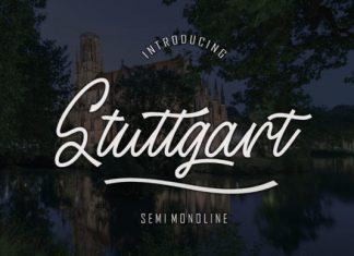 Stuttgart Font