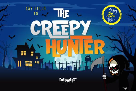The Creepy Hunter Font