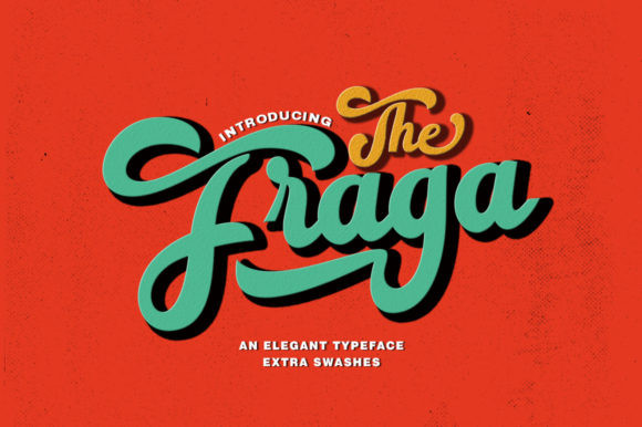 The Fraga Font