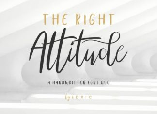 The Right Attitude Duo Font
