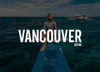 Vancouver Font
