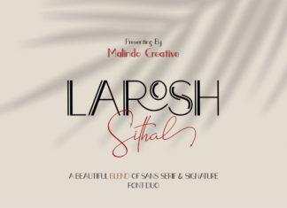 Larosh Sithal Duo Font