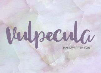 Vulpecula Font