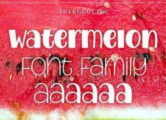 Watermelon Font