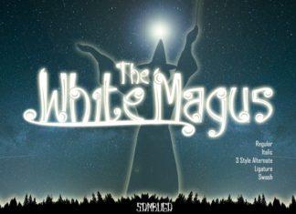White Magus Font