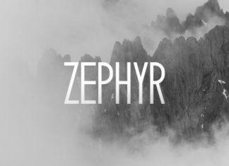 Zephyr Font