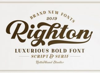 Righton Font