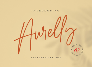 Aurelly Signature Font