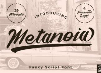 Metanoia Font