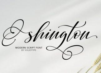 Shington Font