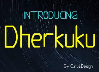 Dherkuku Font