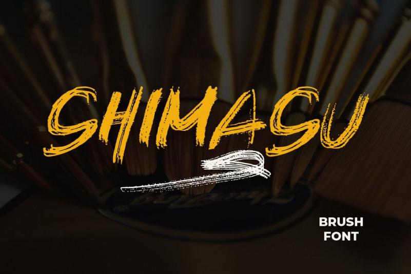 Shimasu Font