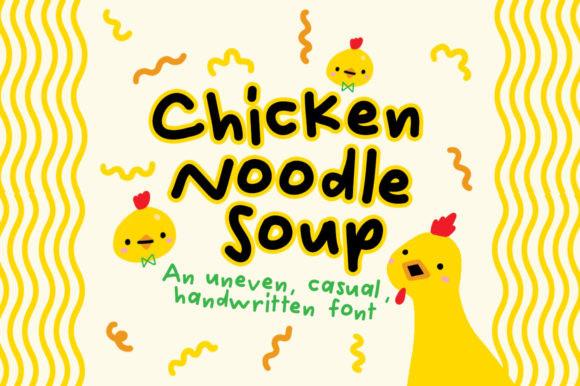 Chicken Noodle Soup Font