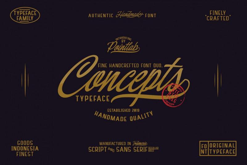 Concepts Font