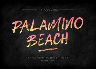Palamino Beach Font