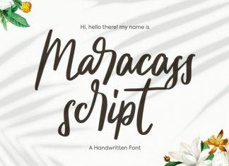 Maracass Font